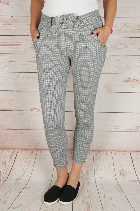 Kockás, magasított derekú nadrág S,L,XL