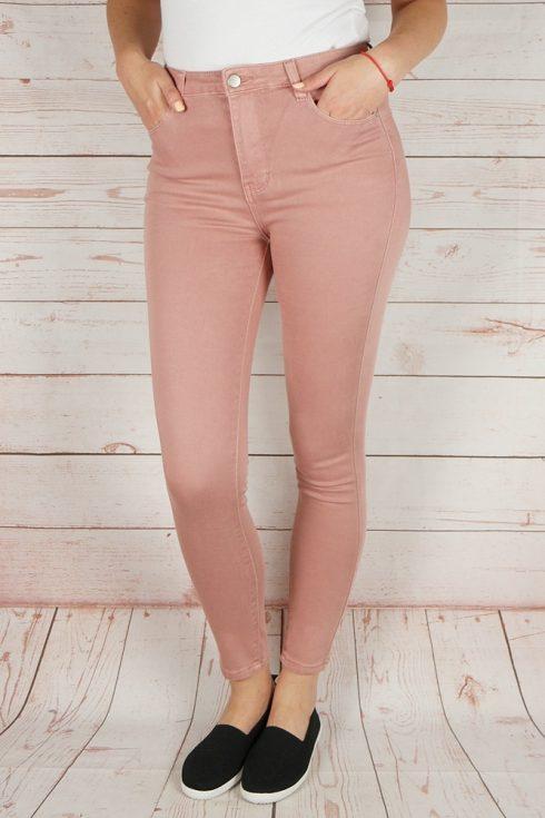 Magasított derekú, zsebes, pamut nadrág XS,S,XL