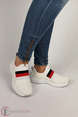 Fehér sportos női cipő