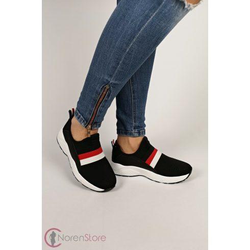 Fekete sportos női cipő